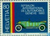 Postzegels - Zwitserland [CHE] - Autotentoonstelling Genève