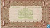 Bankbiljetten - Zilverbon Nederland - 1 Gulden Nederland 1938 004 1b