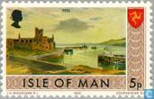 Postage Stamps - Man - Peel