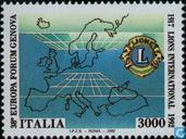 Postage Stamps - Italy [ITA] - Lions 75th anniversary