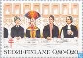 Postzegels - Finland - 80+20 meerkleurig