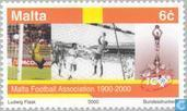 Postage Stamps - Malta - Football 100 years