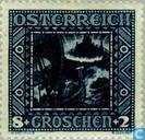 Postage Stamps - Austria [AUT] - Nibelungen Saga