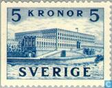 Postage Stamps - Sweden [SWE] - Royal Palace in Stockholm