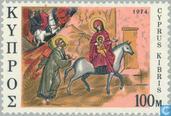 Postage Stamps - Cyprus [CYP] - Biblical scenes