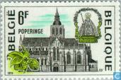 Timbres-poste - Belgique [BEL] - Poperinge