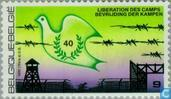 Postage Stamps - Belgium [BEL] - Liberation ad 1945