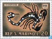 Briefmarken - San Marino - Astrologie
