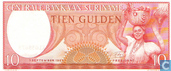 Bankbiljetten - Suriname - 1963 Issue - Suriname 10 Gulden 1963