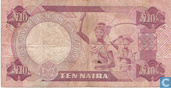 Banknotes - Nigeria - 1979-1984 ND Issue - Nigeria 10 Naira ND (1979-) P21c