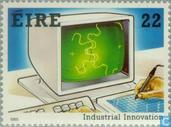 Briefmarken - Irland - Industrielle Innovationen