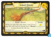 Trading cards - Harry Potter 4) Adventures at Hogwarts - School Broom