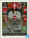 Postzegels - Oostenrijk [AUT] - Republiek Oostenrijk 50 jaar