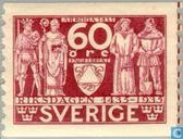 Postage Stamps - Sweden [SWE] - Arms of Engelbrekt