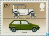 Postage Stamps - Great Britain [GBR] - British automotive industry