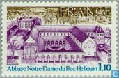 Postzegels - Frankrijk [FRA] - Abdij Notre-Dame du Bec-Hellouin