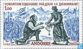 Postage Stamps - Andorra - French - History