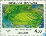 Postage Stamps - France [FRA] - Painting Messagier