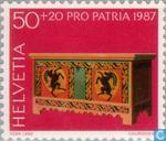 Postage Stamps - Switzerland [CHE] - Farmer Furniture