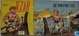 Comic Books - Jezab - De kokende zee