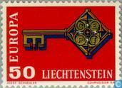 Postage Stamps - Liechtenstein - Europe – Key