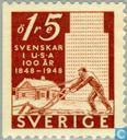 Timbres-poste - Suède [SWE] - Jubilé pionnier