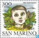 Postage Stamps - San Marino - Refugee Aid