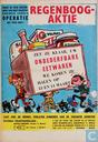 Comic Books - Robbedoes (magazine) - Aanplakbiljet Regenboogaktie 1965