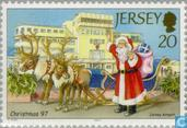 Postage Stamps - Jersey - Santa Claus