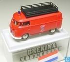 """Voitures miniatures - Brekina - Volkswagen Transporter T1b """"Brandweer Eindhoven nr. 10"""""""