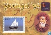 Postage Stamps - Ireland - Stamp exhibition Portugal ' 98