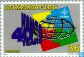 Timbres-poste - Luxembourg - NAMSA 40 années