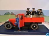 """Modelauto's  - Atlas - De politievrachtwagen uit """"Kuifje in Amerika"""""""