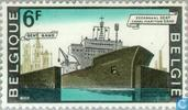 Postage Stamps - Belgium [BEL] - Sea channel from Ghent