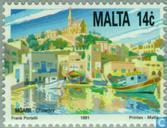 Timbres-poste - Malte - Arts, culture et nature