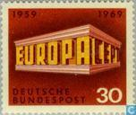 Postage Stamps - Germany, Federal Republic [DEU] - Europe – Temple