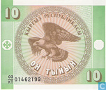 Kyrgyzstan 10 tyjyn