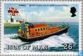Briefmarken - Man - Seenotrettungsboote