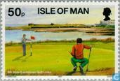 Timbres-poste - Man - Golf