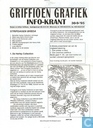 Bandes dessinées - Griffioen grafiek infokrant (tijdschrift) - sept '95