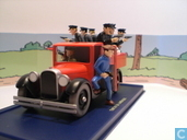 """Model cars - Atlas - De politievrachtwagen uit """"Kuifje in Amerika"""""""