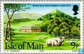 Postzegels - Man - Pioniers Tasmanië