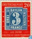 Postage Stamps - Germany, Federal Republic [DEU] - Stamp Anniversary 1849-1949