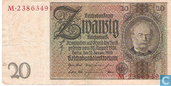 Germany 20 Reichsmark