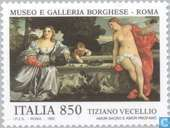 Postage Stamps - Italy [ITA] - Art Treasures