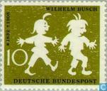 Postage Stamps - Germany, Federal Republic [DEU] - Busch, Wilhelm 1832-1908