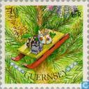 Briefmarken - Guernsey - Christbaumschmuck