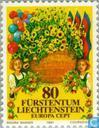 Postage Stamps - Liechtenstein - Europe – Folklore