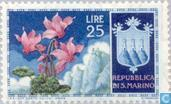 Postage Stamps - San Marino - Flowers
