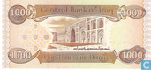 Bankbiljetten - Central Bank of Iraq - Irak 1.000 Dinars